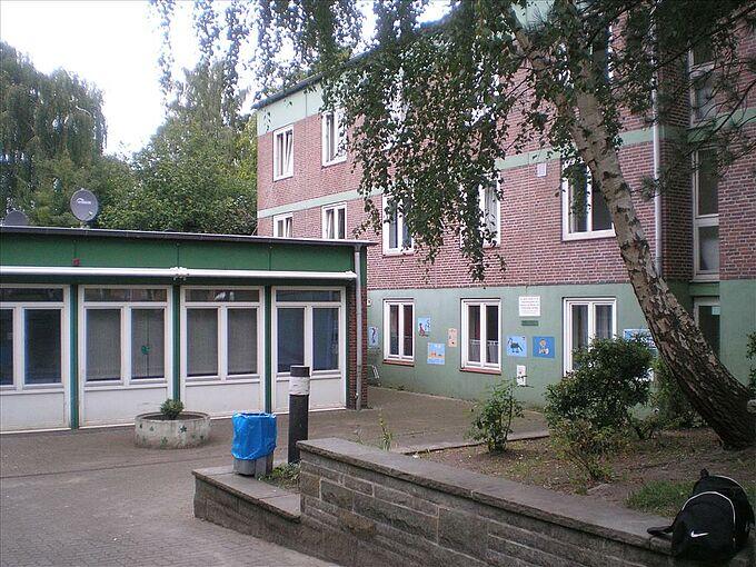 Wohnunterkunft Erdkampsweg in Fuhlsbüttel