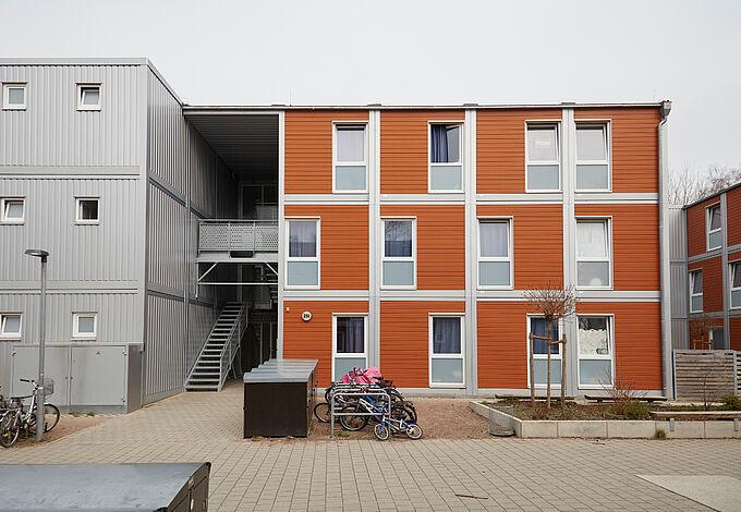 Wohnunterkunft Notkestraße in Bahrenfeld