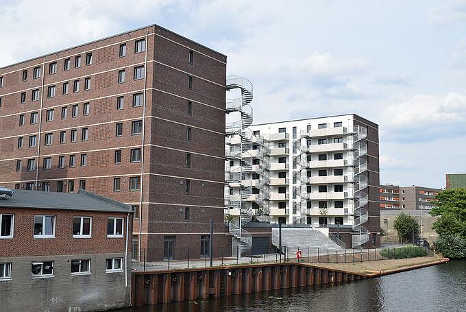 Unterkunft mit der Perspektive Wohnen Eiffestraße in Borgfelde