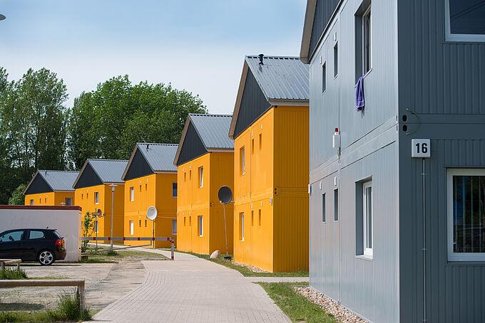 Wohnunterkunft Lewenwerder in Neuland