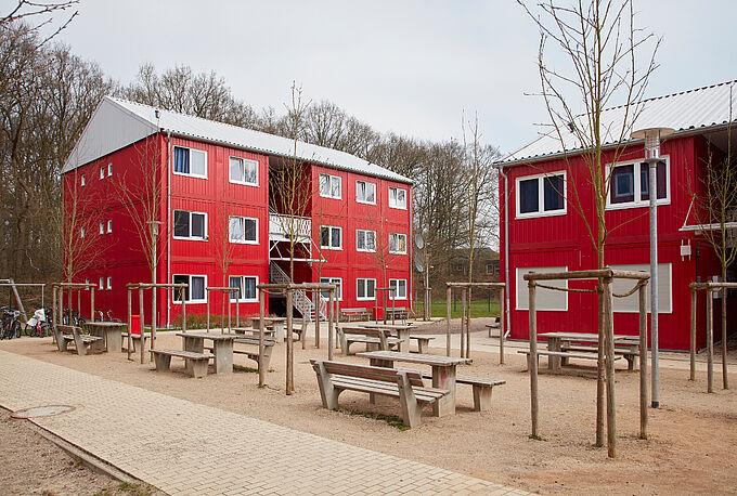 Wohnunterkunft Blomkamp in Osdorf