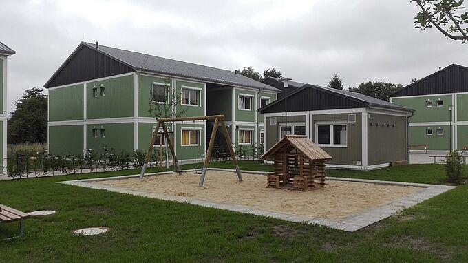 Wohnunterkunft Rotbergfeld in Rönneburg
