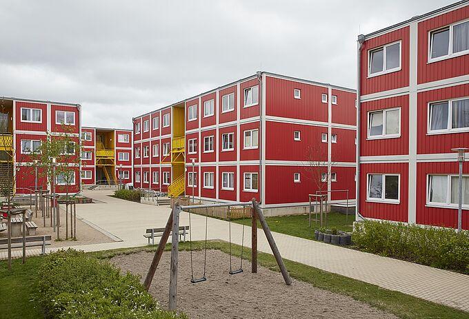Wohnunterkunft Schlenzigstraße in Wilhelmsburg
